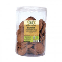 Sol Natural Bio Cookies de Espelta Multisemillas