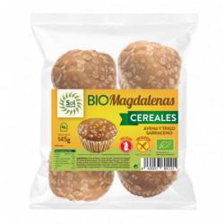 Sol Natural Magdalenas de Cereales Integrales 4 uds