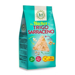Sol Natural Nachos de Trigo Sarraceno, Amaranto y  Quinoa 80g