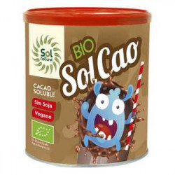 Sol Natural Solcao Cacao Soluble Bio 400g