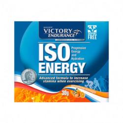 Weider Iso Energy Naranja y Mandarina 30g 16 Sobres