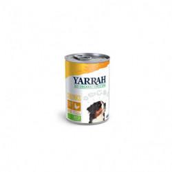 Yarrah Pollo con Ortiga y Tomate Bio 405g