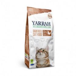 Yarrah Pienso Ecológico de Pollo Sin Cereales para Gatos Bio 2,4 kg