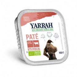 Yarrah Ternera con Espirulina para Perros Bio 150g