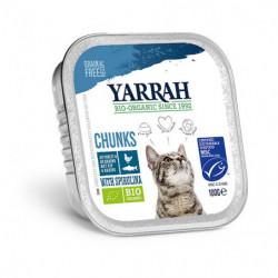 Yarrah Pescado para Gatos Bio 100g