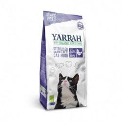 Yarrah Pienso Ecológico de Pescado Sin Cereales para Gatos Esterilizados Bio 700g