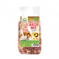 Sol Natural Aros Mix de Choco-Miel Sin Gluten BIO 160 Gr