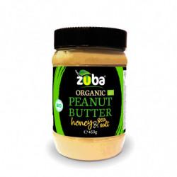 Zuba Crema de Cacahuete con Miel y Sal BIO 453 Gr