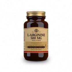 Solgar L-Arginina 500mg 50 cápsulas