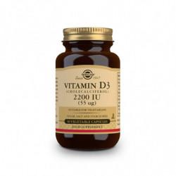 Solgar Vitamina D3 2200UI Colecalciferol 50 cápsulas