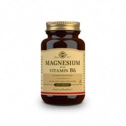Solgar Magnesio + Vitamina B6 100 comprimos