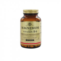 Solgar Magnesio + Vitamina B6 250 comprimidos