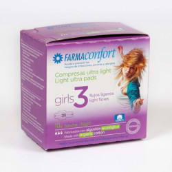 Farmaconfort Girls Compresa Noche 10 unidad