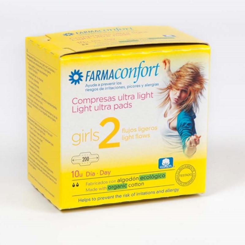 Farmaconfort Girls Compresa Día 10 unidades