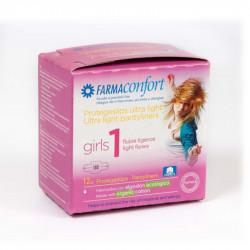 Farmaconfort Girls Protegeslips 12 unidades