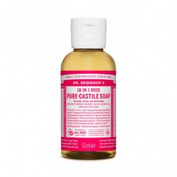 Dr. Bronner's Jabón Líquido Rosas 60 ml