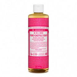 Dr. Bronner's Jabón Líquido de Rosas 475 ml
