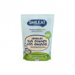 Smileat Papilla Cereales con Quinoa 200 gr BIO