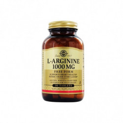 Solgar L-arginina 1000mg 90 cápsulas