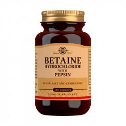 Solgar Betaína Clorhidrato con Pepsina 100 comprimidos
