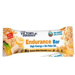 Weider Endurance Bar Choco Blanco y Banana 85g 25 Unidades