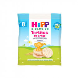 Hipp Snacks Tortitas de Arroz 30gr