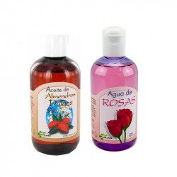 Jalplan Pack Aceite Almendras + Agua de Rosas