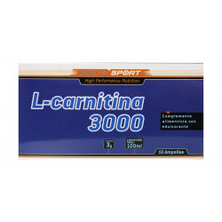 Sotya L-Carnitina 10 ampollas 3000mg