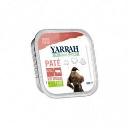Yarrah Paté con Pollo y Algas para Perro Bio 150 gr