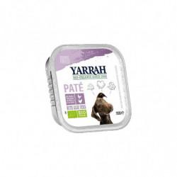 Yarrah Paté con Pollo y Pavo para Perro Bio 150 gr