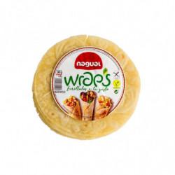 Nagual Wraps 4 unidades S/Gluten 240 gr