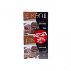 Siken Barrita Chocolate 180 gr (2 unidades)