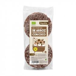 Vegalife Tortas Arroz Chocolate y Coco 100 gr