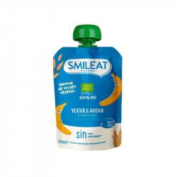 Smileat Pouch Yogur y Avena 100 gr
