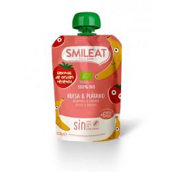 Smileat Pouch Fresa y Plátano Ecológico 100gr