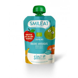 Smileat Pouch Frutas Variadas Ecológico 100gr