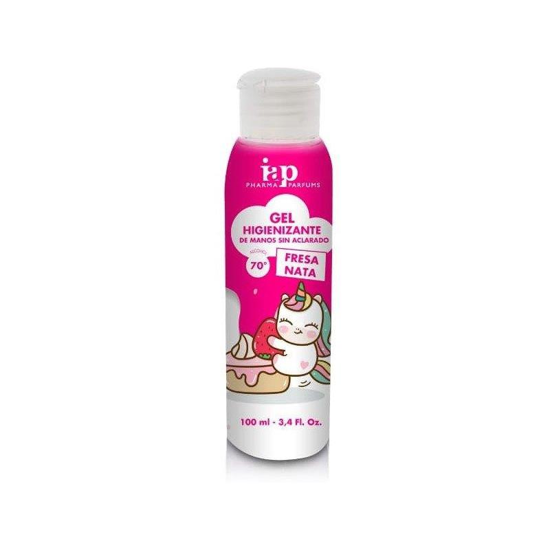 Iap Pharma Gel Higienizante Infantil Fresa Nata 100ml