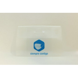 Portamascarillas FFP2 KN95 Transparente