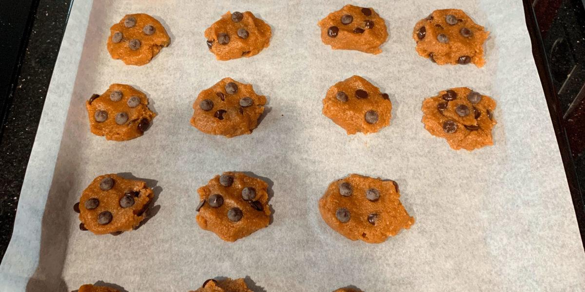 receta cookies de chocolate