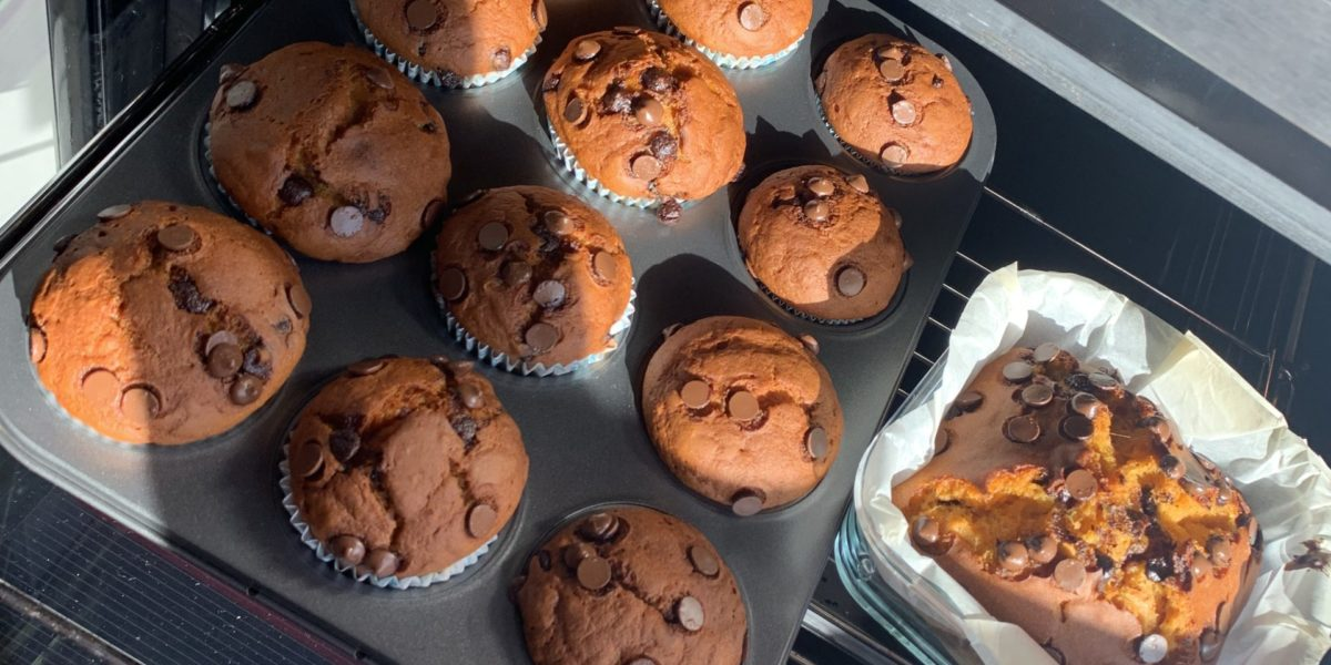 receta muffins con boniato