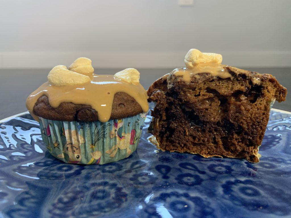 receta muffins de boniato