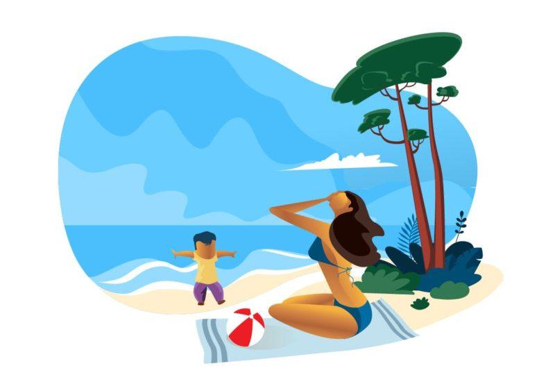 proteger a los niños en verano del calor