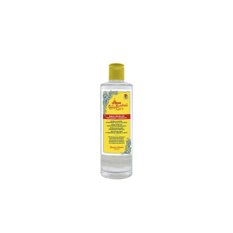 agua micelar para piel con granos