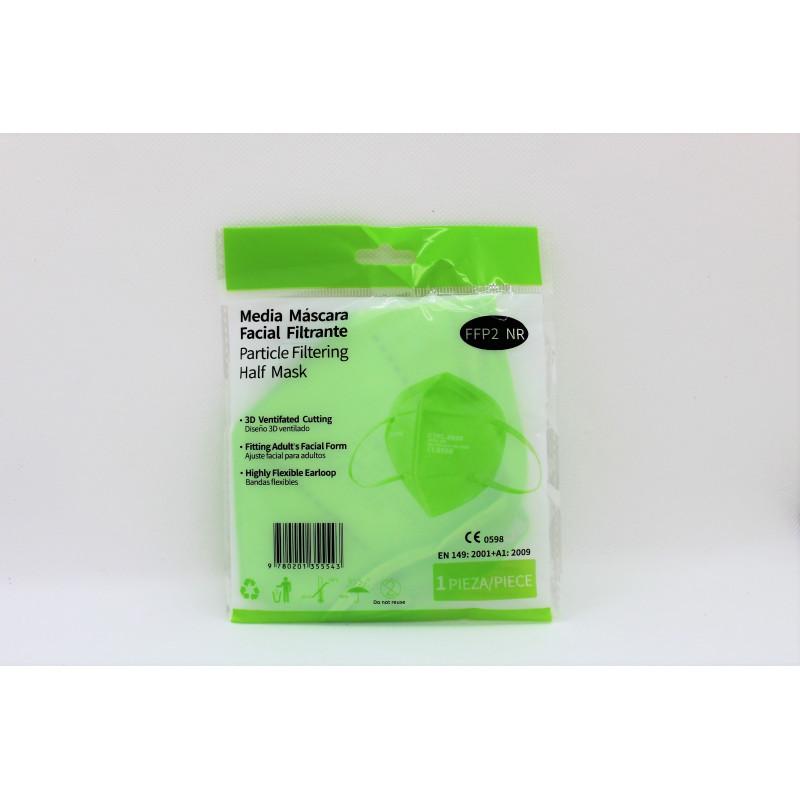 mascarillas ffp2 verdes